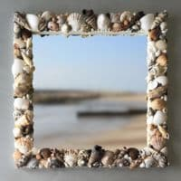 Tobago Seashell Mirror | Wall Mirror